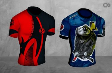 custom rash guards for BJJ no Gi