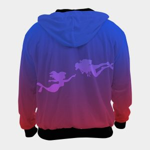 Diving Hoodie Mermaid