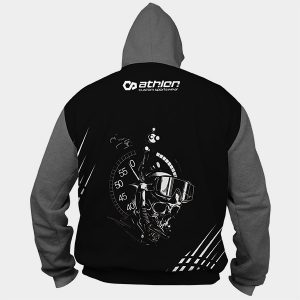 Bottom timer Pullover Hoodie