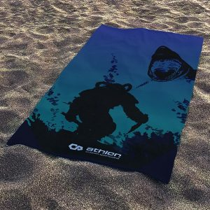Beach towel quick dry