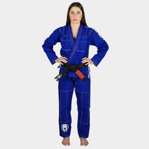 bjj gi woman's blue ripstop