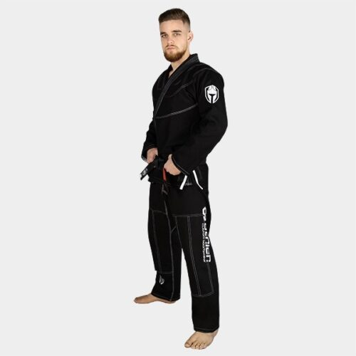 Greek Meander Black BJJ Man's Gi