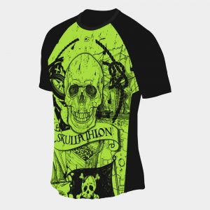 dry fit t-shirt skullathlon