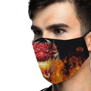role playing game dragon breath mask