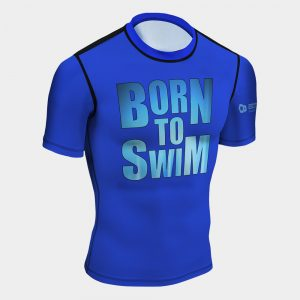 rash guard born to swim