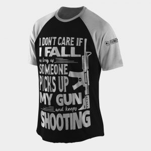 keep shooting t shirt