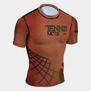 tennis mode on rash guard uv protection