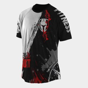 crossfit clothing t-shirt Dry fit