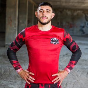 cage survivor rash guard