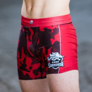 cage survivor mma shorts