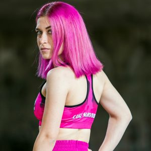 cage survivor sports bra mma bjj