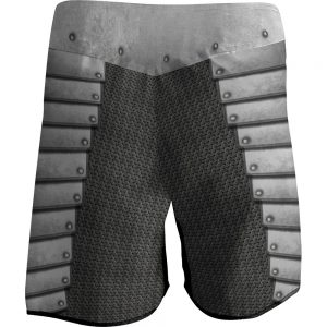 templar knight - bjj mma fight shorts