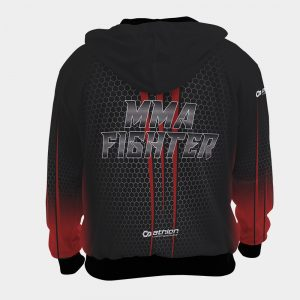 hoodie casual mma fighter