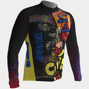 cycling Jersey long sleeved hard rider