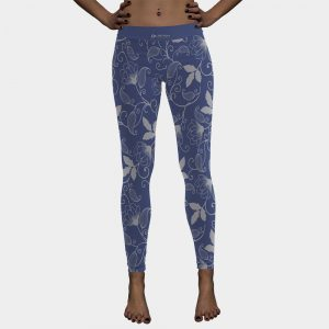 floral legging womans tights
