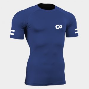 reflective thermal base layer short sleeve