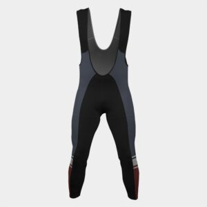Cycling Bib leggings tights with chamois and suspenders